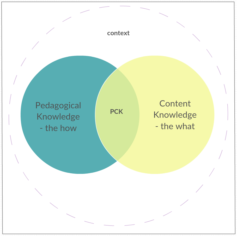 pedagogical content knowledge in english